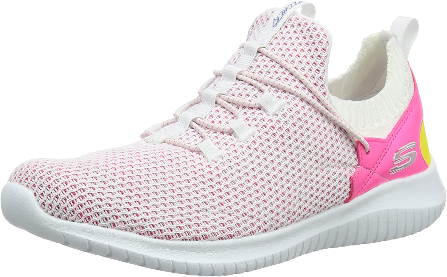 Skechers Ultra Flex-More Tranquility, Zapatillas para Mujer