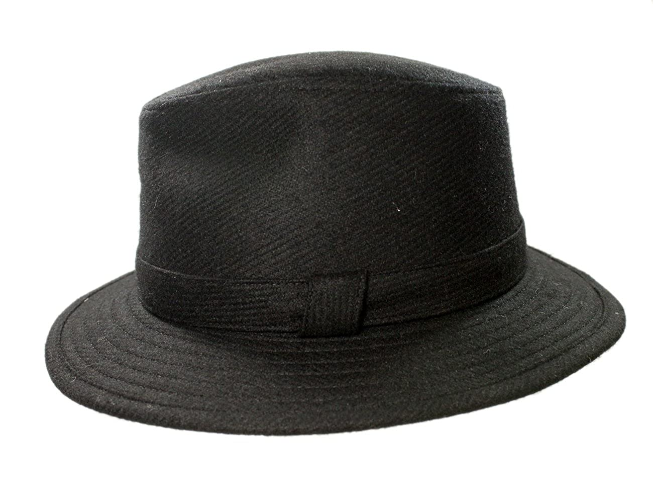 e00bdefeb17 Biddy Murphy Men s Irish Fedora 100% Wool Tweed Made in Ireland at ...