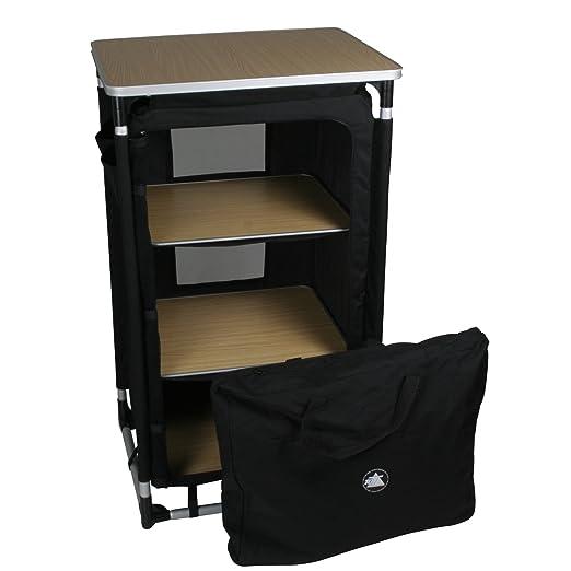 Amazon.com: 10T Camping clóset cambox Trio 3 compartimentos ...