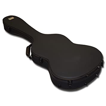 Spider acústica guitarra de fibra de vidrio duro caso: Amazon.es: Instrumentos musicales