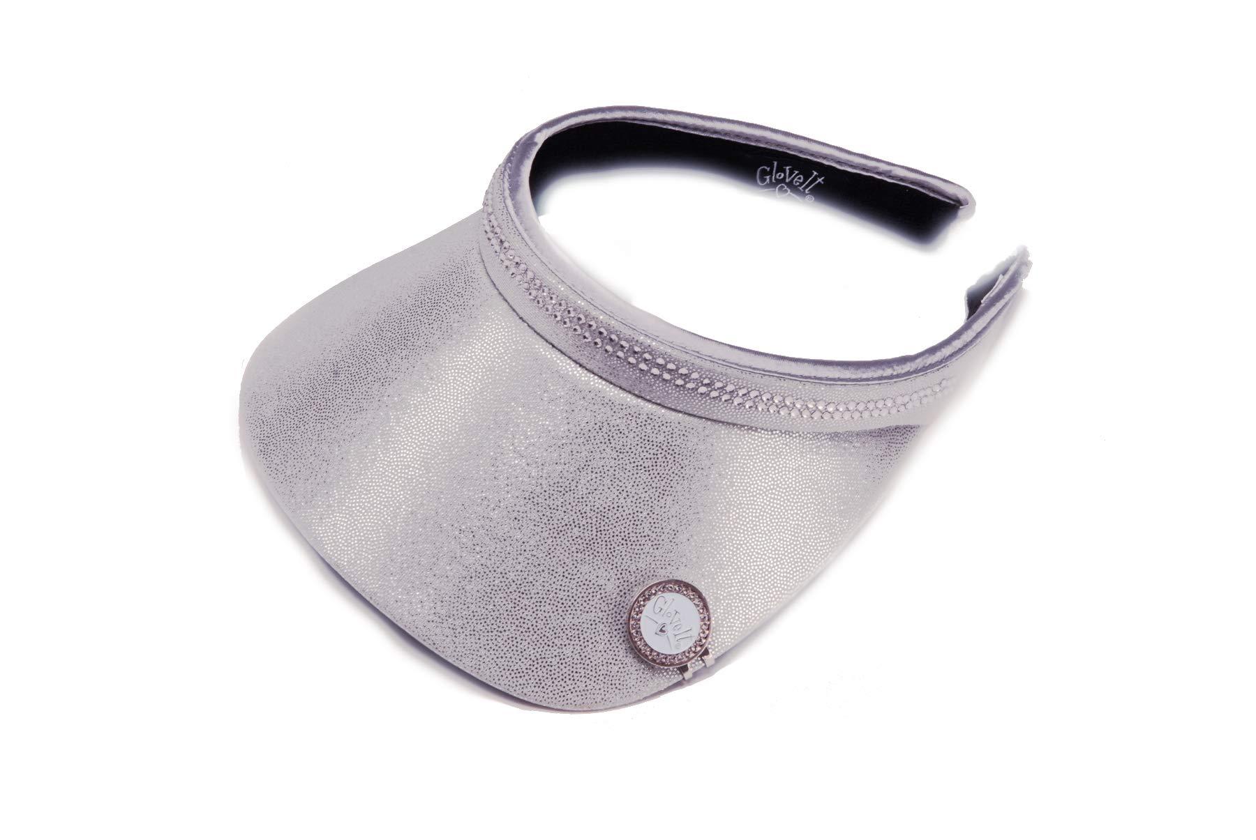 Glove It Women's Bling Visor (Silver)