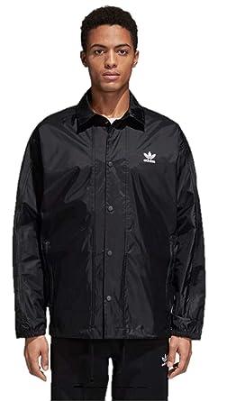 : adidas Men Originals Men's Trefoil Coach Jacket