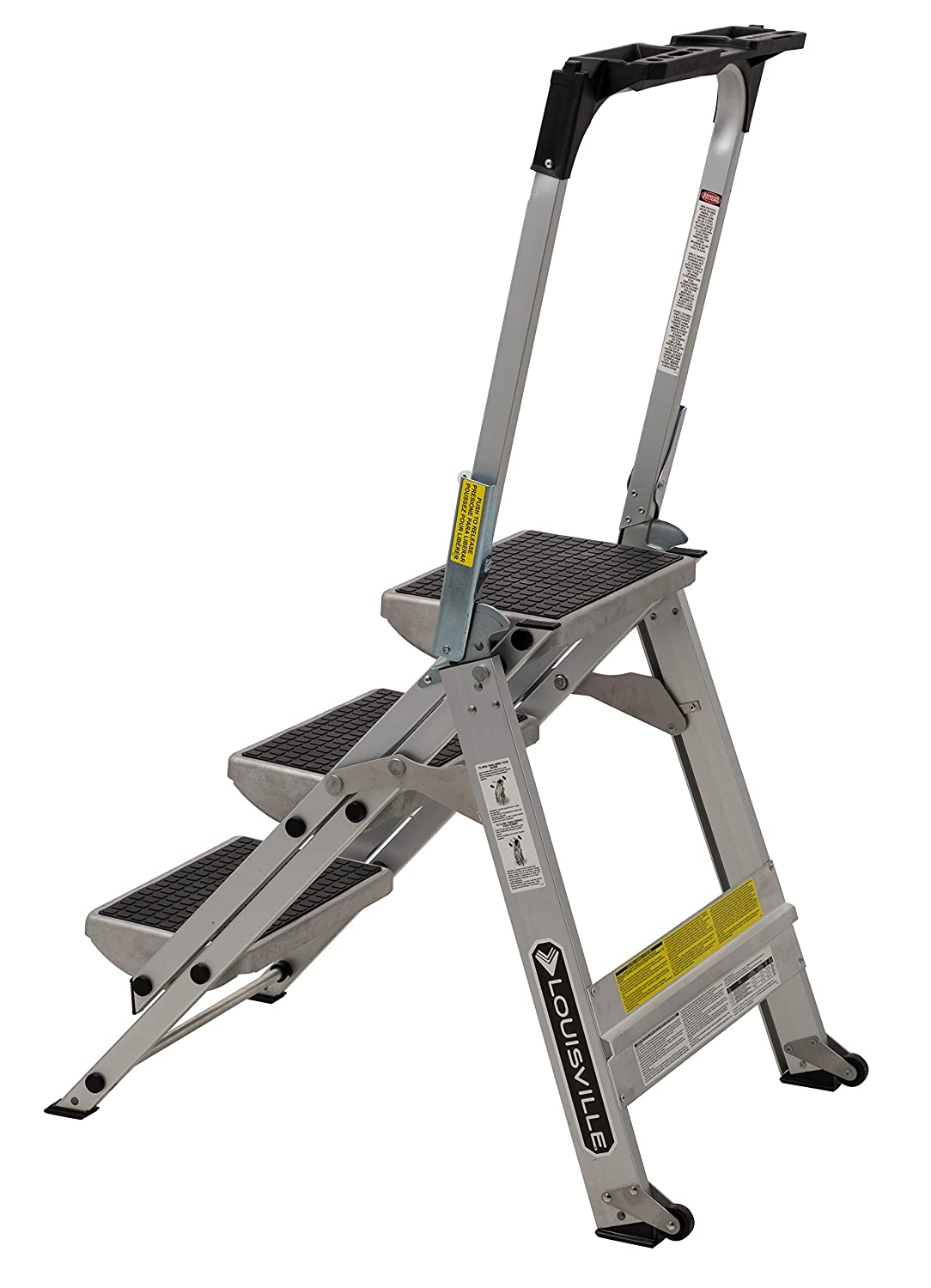 Groovy Louisville Ladder 3 Foot Step Stool 300 Pound Capacity L Pabps2019 Chair Design Images Pabps2019Com