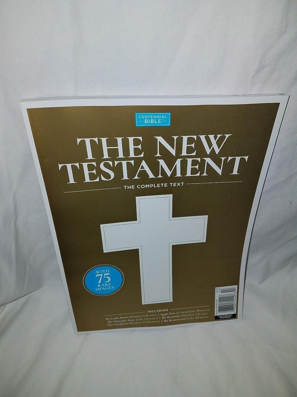 Amazon.com : Centennial Bible Magazine The New Testament, The ...