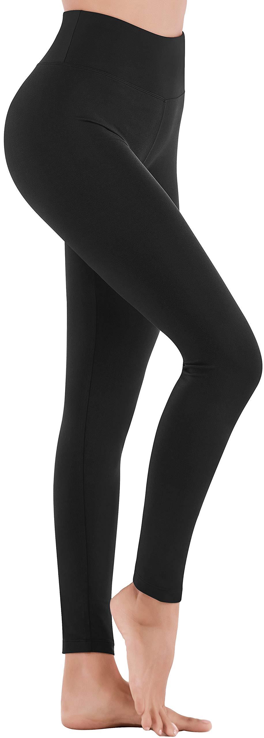 IUGA High Waisted Yoga Leggings for Women Workout Leggings with Inner Pocket, Soft Basic Leggings for Everyday