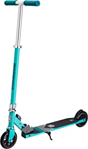Mongoose Trace Youth/Adult Kick Scooter Folding and Non-Folding Design, Regular, Lighted, and Air Filled Wheels, Multiple Colors