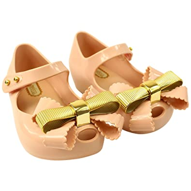 de6f9b5a7cd Mini Melissa Mini Ultragirl Chrome Bow 01276 30EU UK12  Amazon.co.uk ...