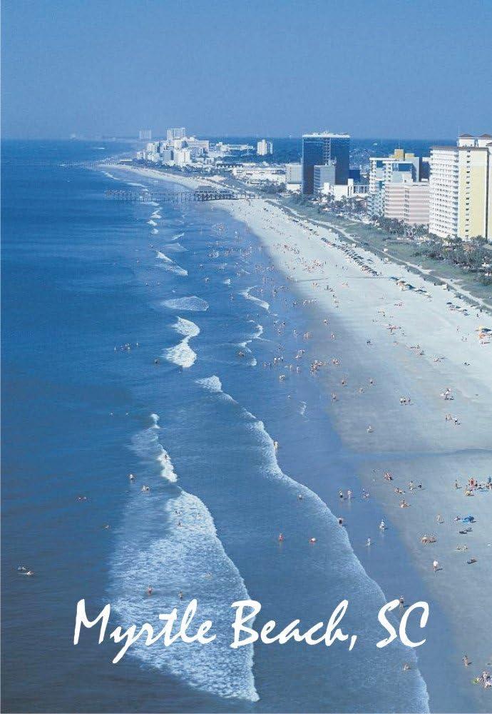 Myrtle Beach, South Carolina, Pier, Beach, Souvenir Magnet 2 x 3 Photo Fridge Magnet