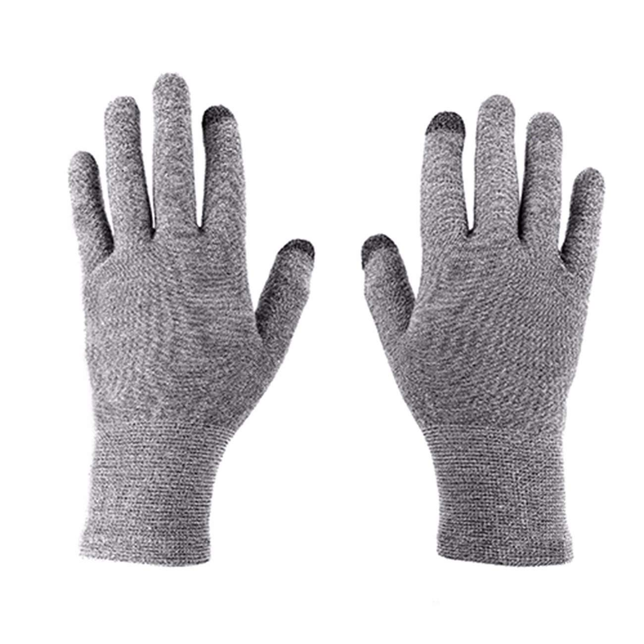 Mens and Womens Thermal Knitted Outdoor Gloves wear Resistant Five Fingers Gloves. touchable Screen