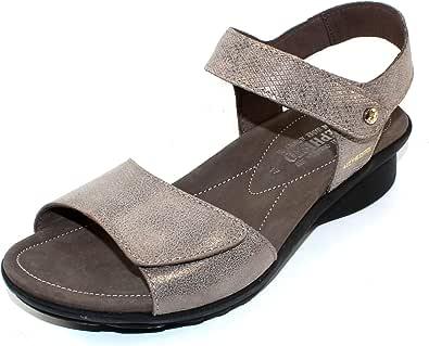 Mephisto Women's Ankle Strap Flat Sandal