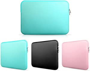 Frog-tech 13 Inch Neoprene Laptop Notebook Ultrabook Sleeve Bag Cover for Notebook / MacBook Pro / MacBook Air / Ultrabook / Chromebook - Turquoise