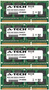 32GB KIT 4X 8GB for Dell Precision Notebook Series M4600 M4700 M6600 M6700 M6800 SO-DIMM DDR3 Non-ECC PC3-12800 1600MHz RAM Memory