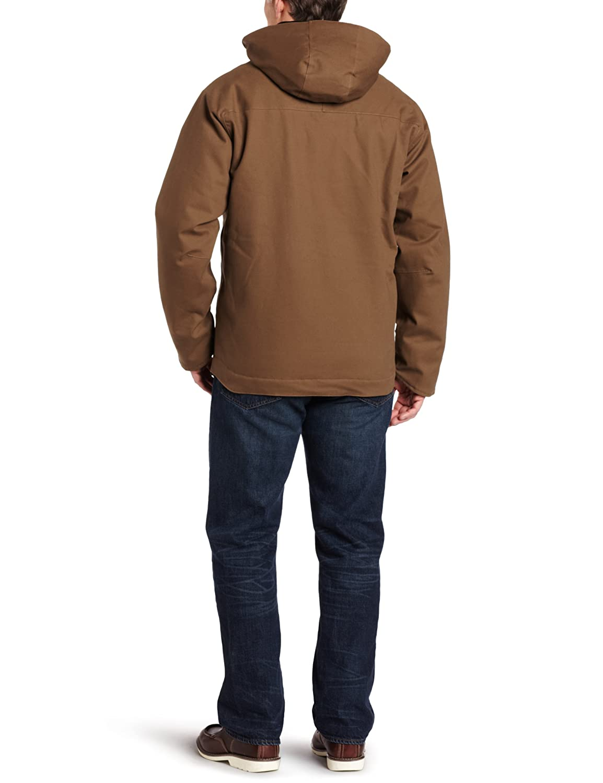 Mens 100120 Carhartt Mens Mankato Jacket Insulated Waterproof Breathable Cotton Carhartt Sportswear
