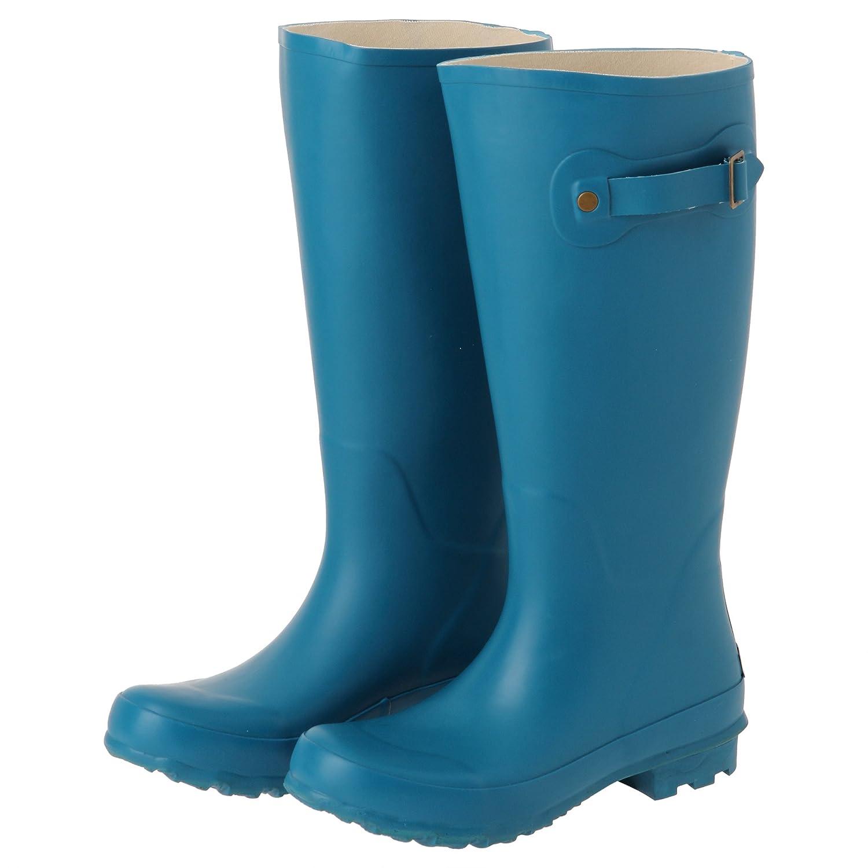 アスティ RAINFABS レインブーツ ロング CAPRI BREEZE Mサイズ RFS-20605 PIOGIA B073TWZJH4 Mサイズ|ブルー ブルー Mサイズ