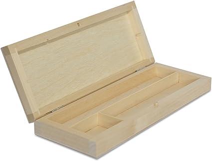 Estuche de madera