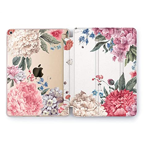 Computers/tablets & Networking Pink Peony Floral Flower Smart Case For Ipad Pro 12.9 11 10.5 9.7 Air Mini 3 4 5 Tablet & Ebook Reader Accs