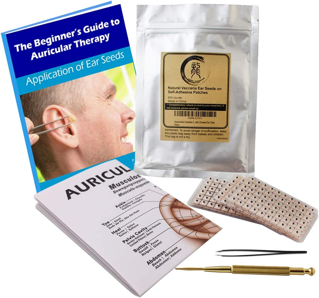 Acupuncture Multi-Condition Ear Seed Kit 600 Counts