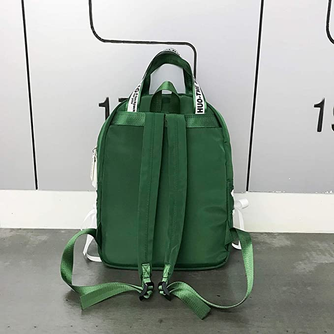 Amazon.com | Fashion 2018 Backpack Women School Bags for Teenagers Backpack Female Nylon Travel Bags Girls Bowknot Backpack Mochilas, Green | Backpacks