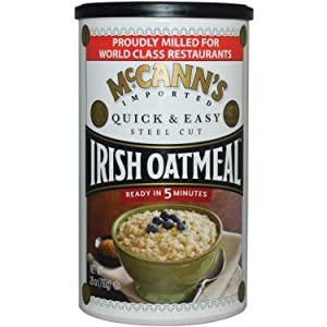 Mcann's Imported Quick & Easy Steel-Cut Irish Oatmeal, Sourced in the USA, 28-Ounce Can