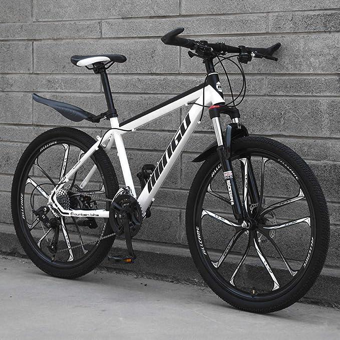 Bicicletas De Montaña 29 Pulgadas Bicicletas Eléctricas Para Adultos Mujeres Bicicleta De Montaña De 24 Pulgadas, 21 Engranajes Para Regulación De Velocidad, Fácil De Conducir, 0 Emisiones De Carbono: Amazon.es: Deportes y aire libre