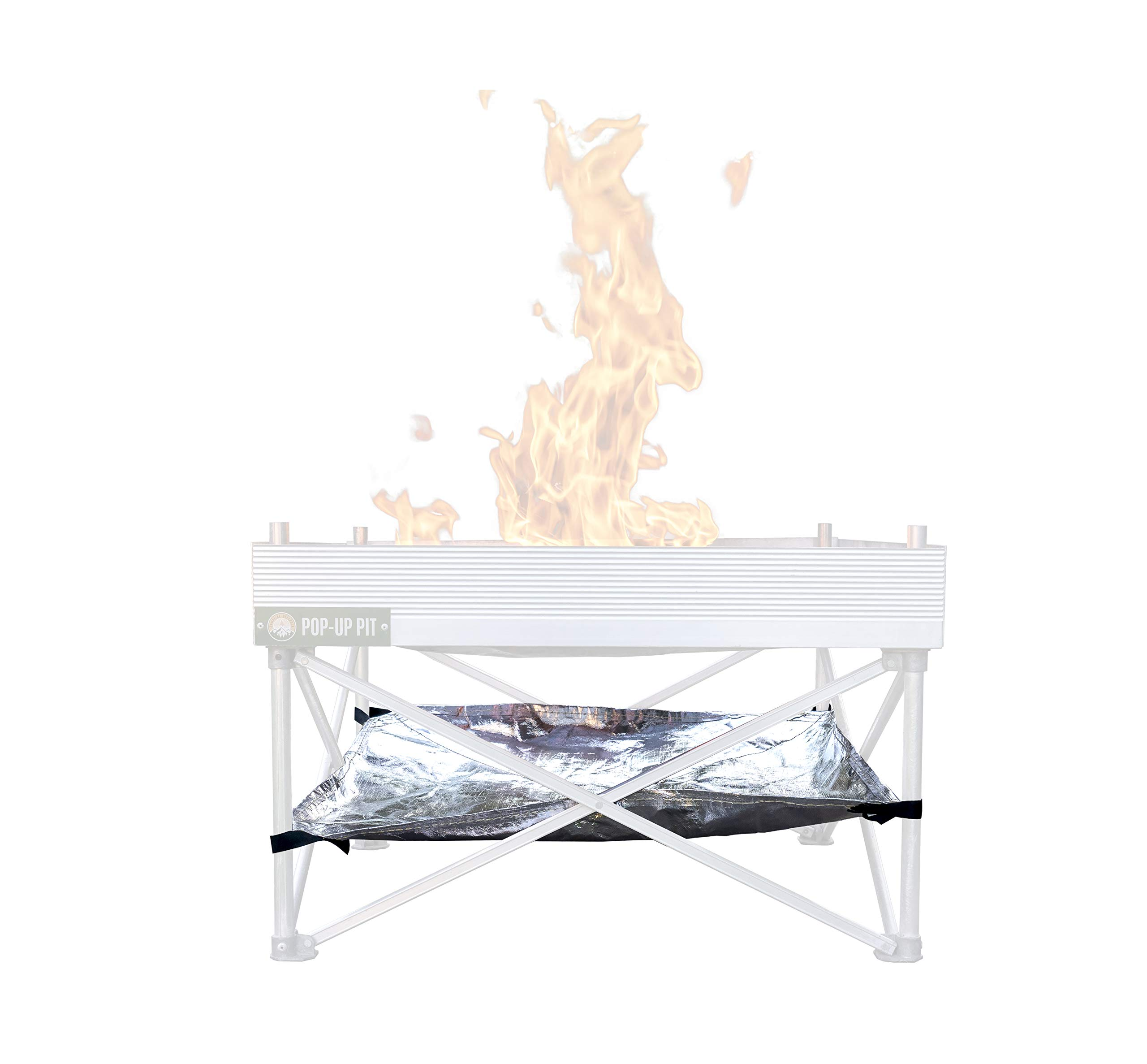 Campfire Defender Protect Preserve PopUp Pit Heat Shield Replacement Part (24'' Version) by Campfire Defender Protect Preserve