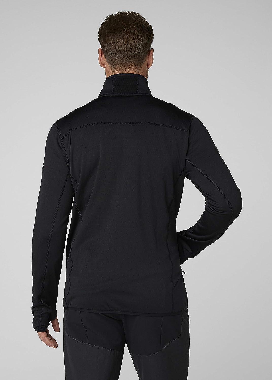 Hombre Helly Hansen Vertex Stretch Fabric Quick Dry Chaqueta con Cremallera Completa