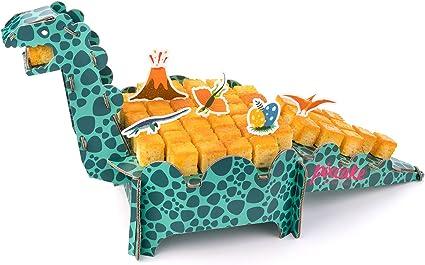 Pixcake Pixkit Dinosaure Présentoir à Gâteau Dinosaure