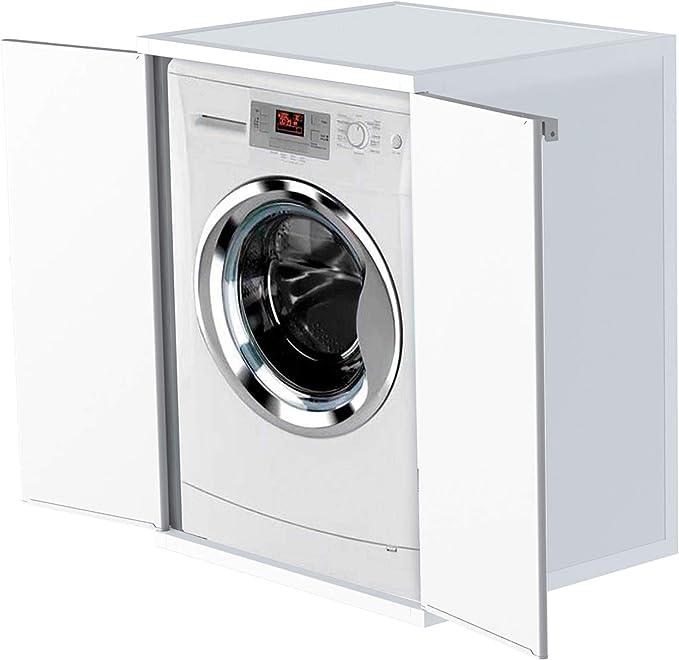 Adventa - Funda para Lavadora de Resina de PVC (Uso Interior/Exterior), Color Blanco, 68,5 x 64,5 x 88 cm: Amazon.es: Hogar