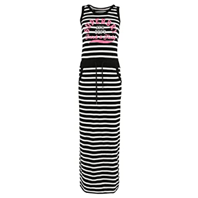 Superdry Trackamp; Xs Taille Robe Noir Field Maxi Femme mnwN8v0