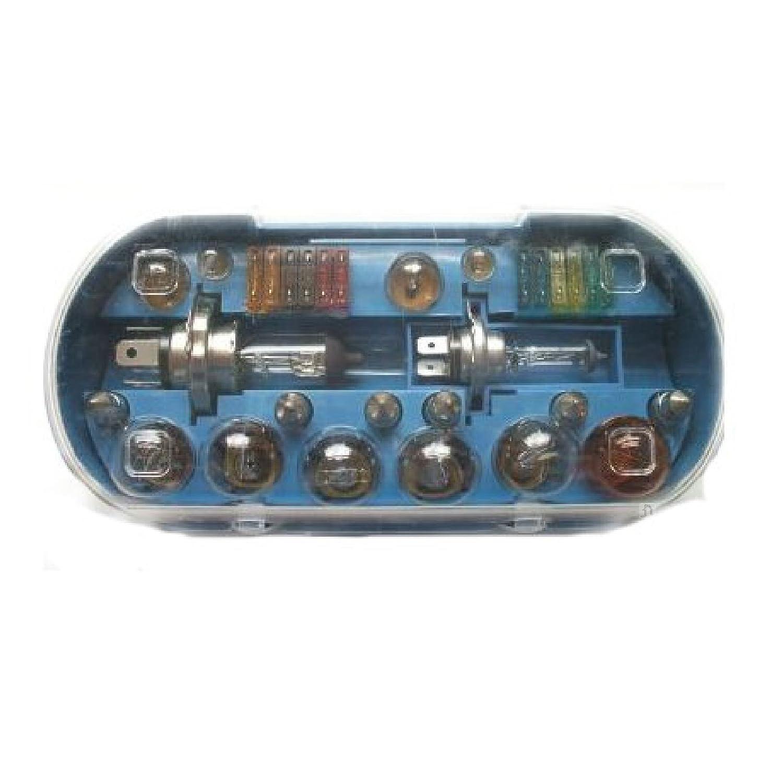 30 Piece Universal Car H7 Bulbs Lamp and Fuse Set 30pc Box Set Lights Bulb