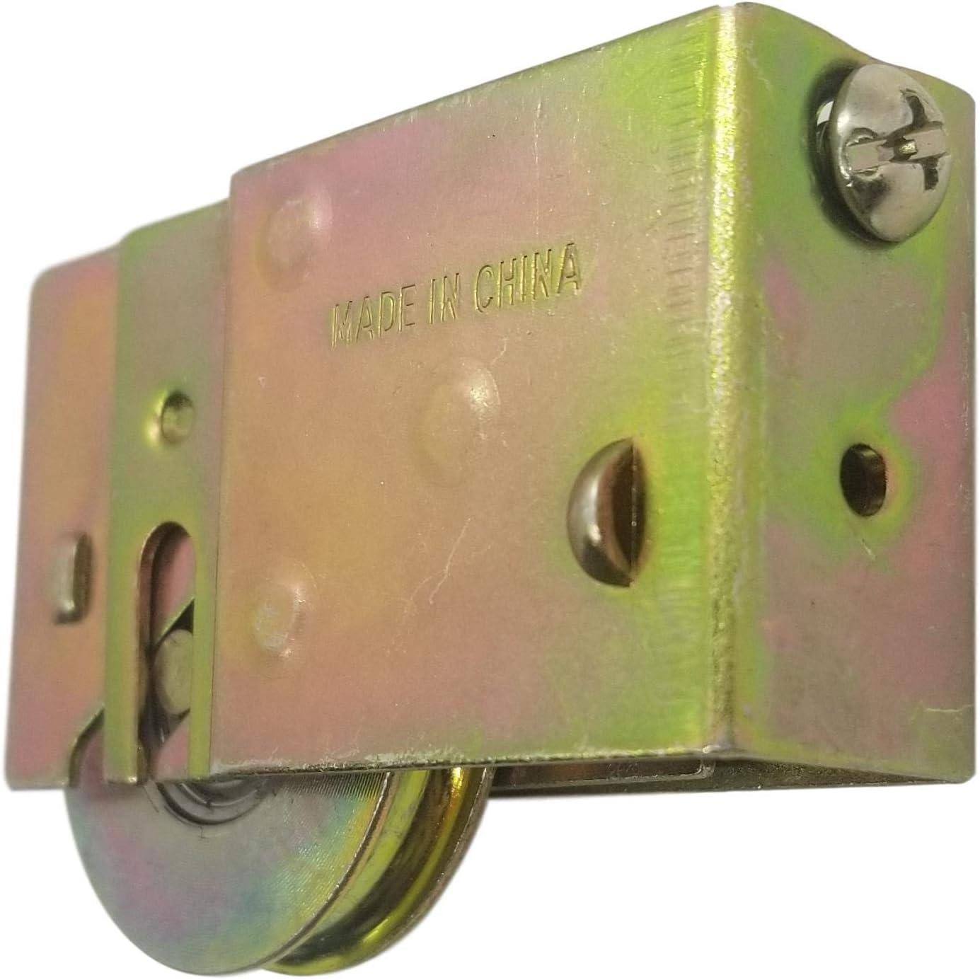 IFA Hardware Adjustable Sliding Glass Door Roller Wheel Diameter//Ball Bearing 1-1//2 in