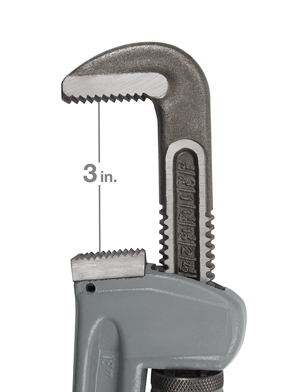 TEKTON 2363 24-Inch Aluminum Pipe Wrench