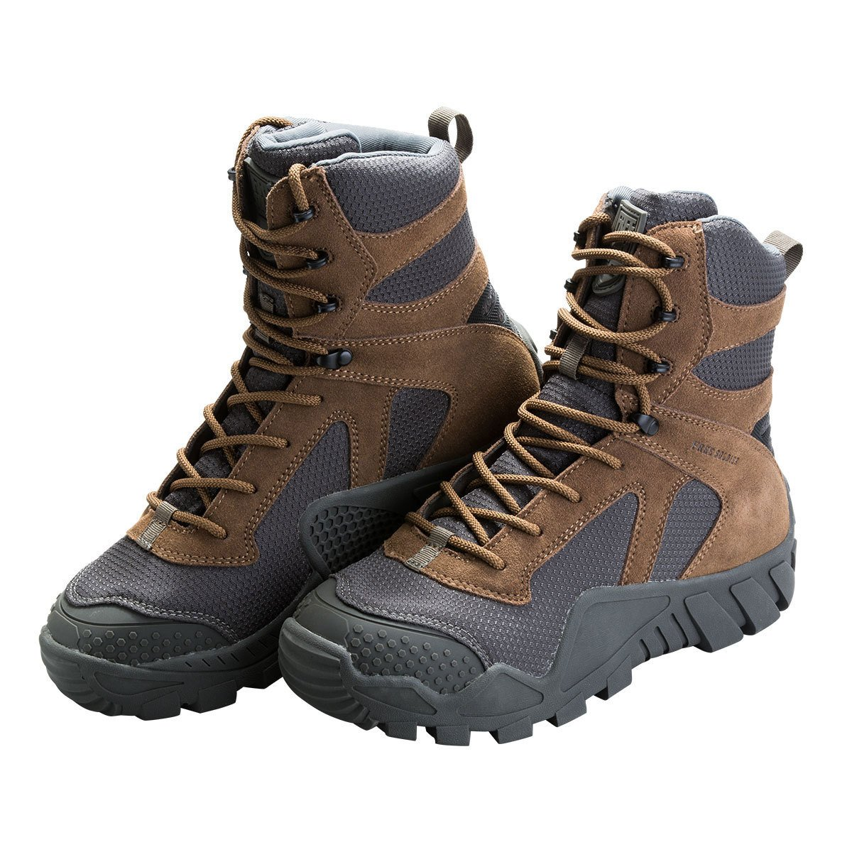 FREE SOLDIER Men's Boots All Terrain Hiking Shoes Suede Leather Hunting Tactical Boots nanjing yebao