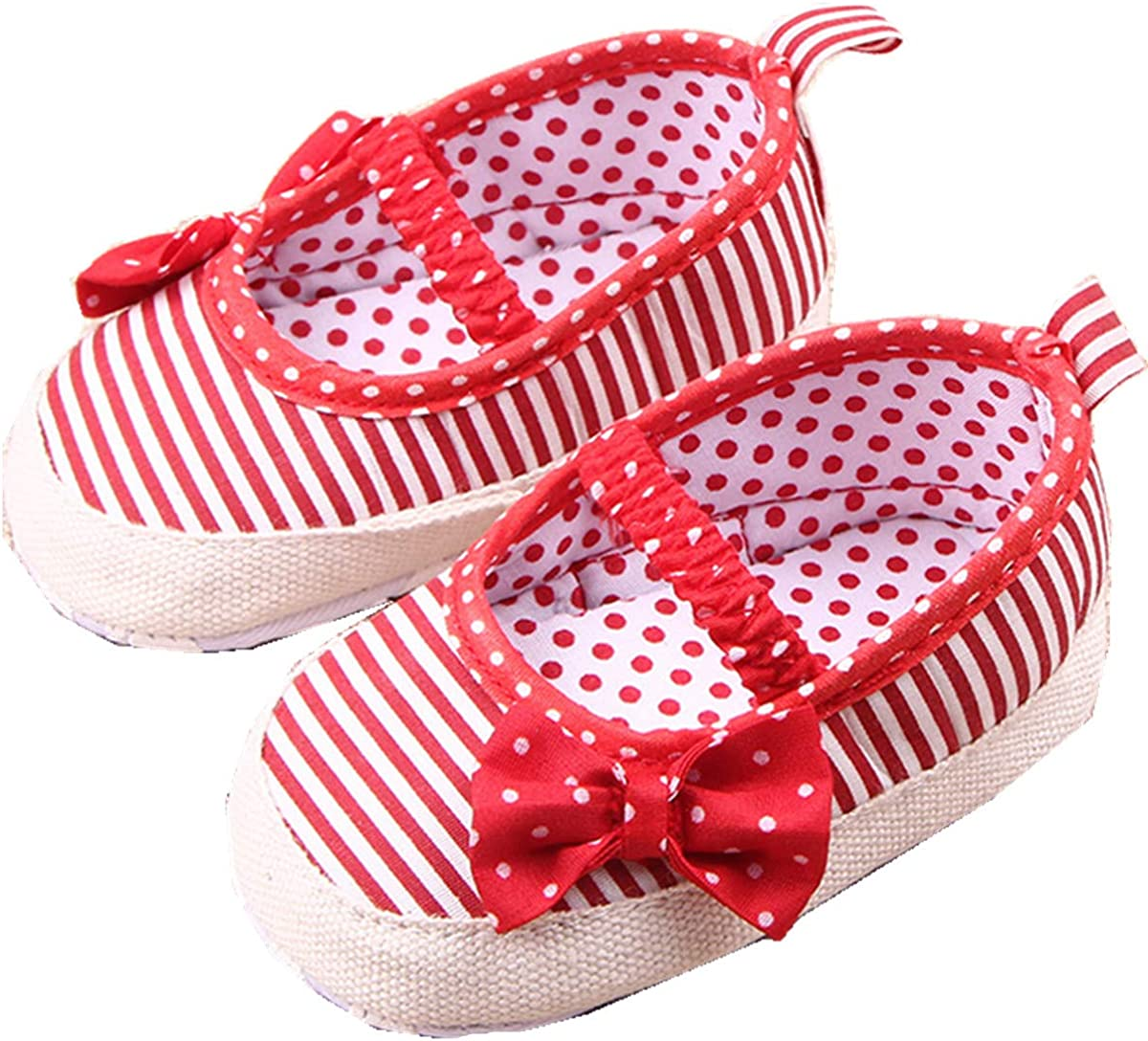 ADIASEN,Baby Unisex Shoes,Newborn Shoes,Infant Shoes,Toddler Shoes,Cute Baby Canvas Sneaker Antiskid Soft Trainer Shoes Soft Sole Shoes Anti-Slip