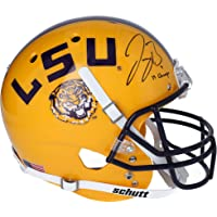 "$449 » Joe Burrow LSU Tigers Autographed Schutt Yellow Replica Helmet with""19 Champs"" Inscription - Fanatics Authentic Certified"