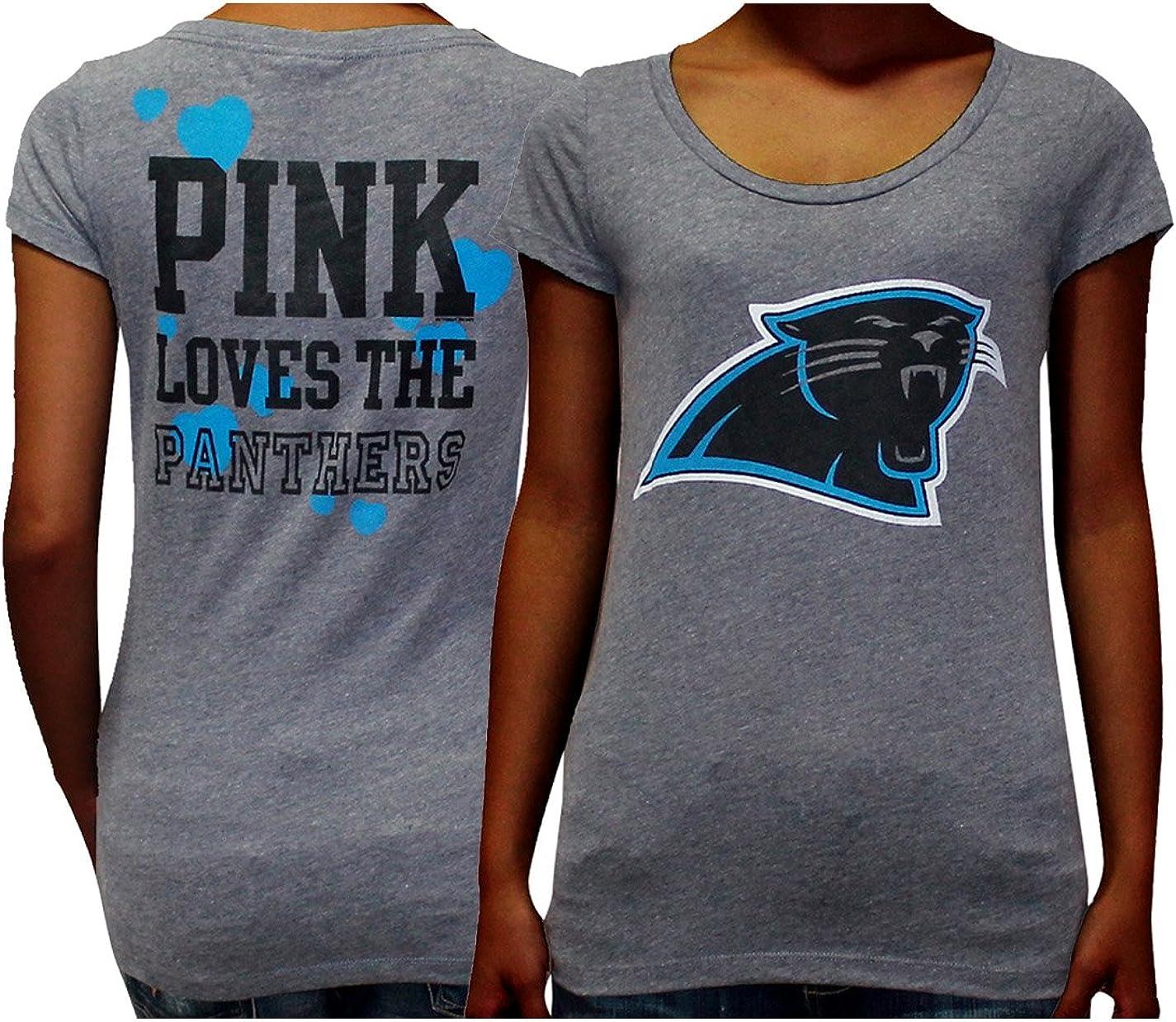 pink carolina panthers shirt