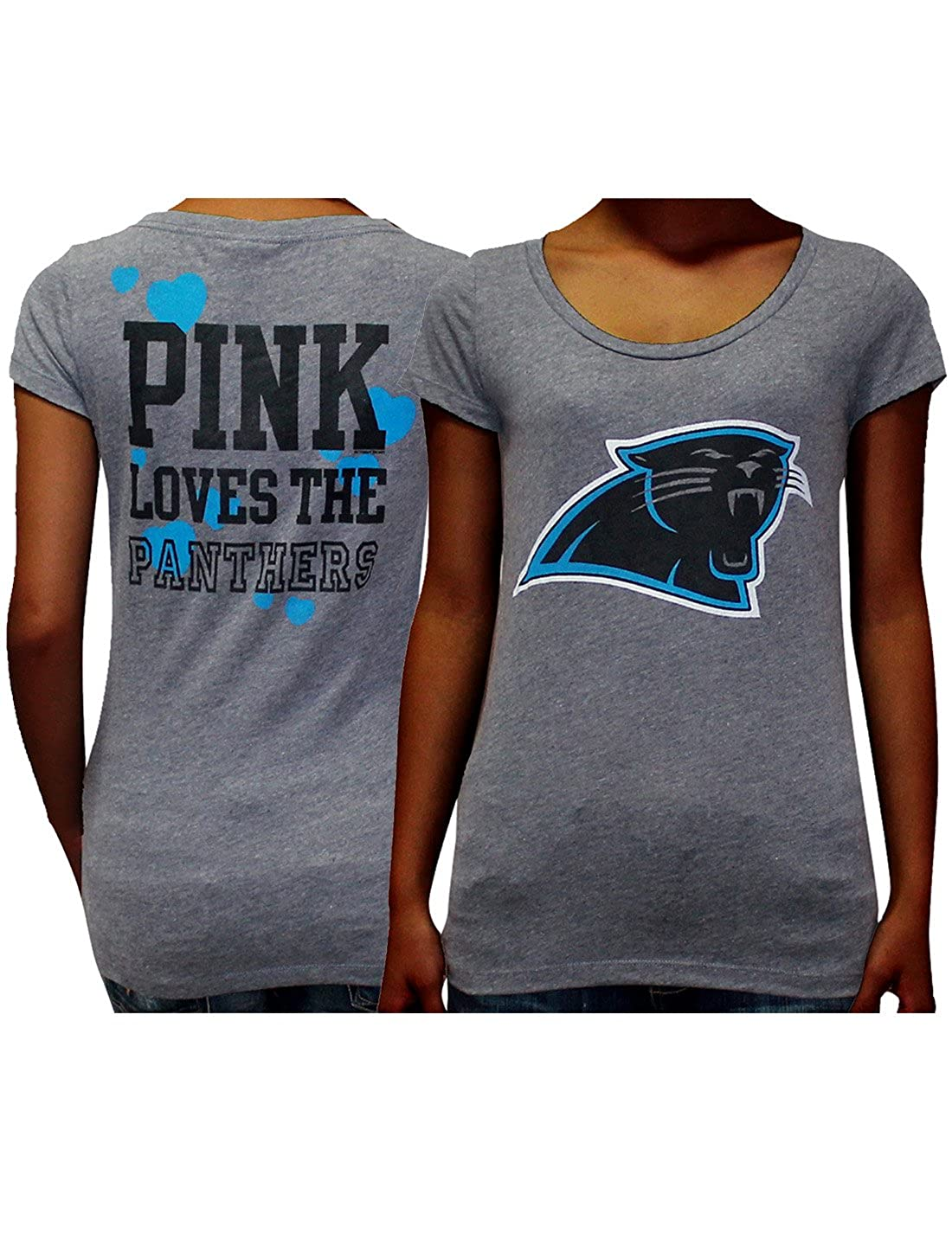 hot sale online dde3e cbbe9 Amazon.com: NFL Carolina Panthers Womens Pink Victoria's ...