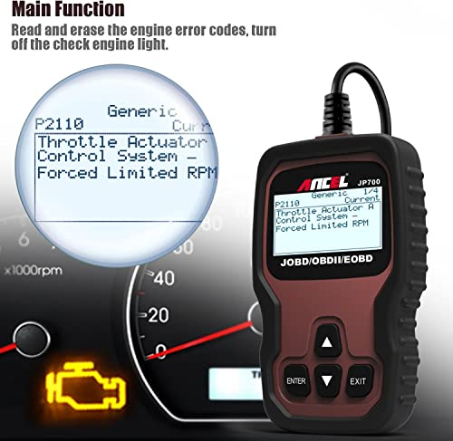 Ancel JP700 can diagnose and resolve issues that is another  available Toyota scan tool