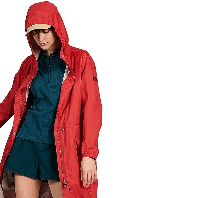 Aigle - Abrigo Impermeable - para Mujer Rojo XS