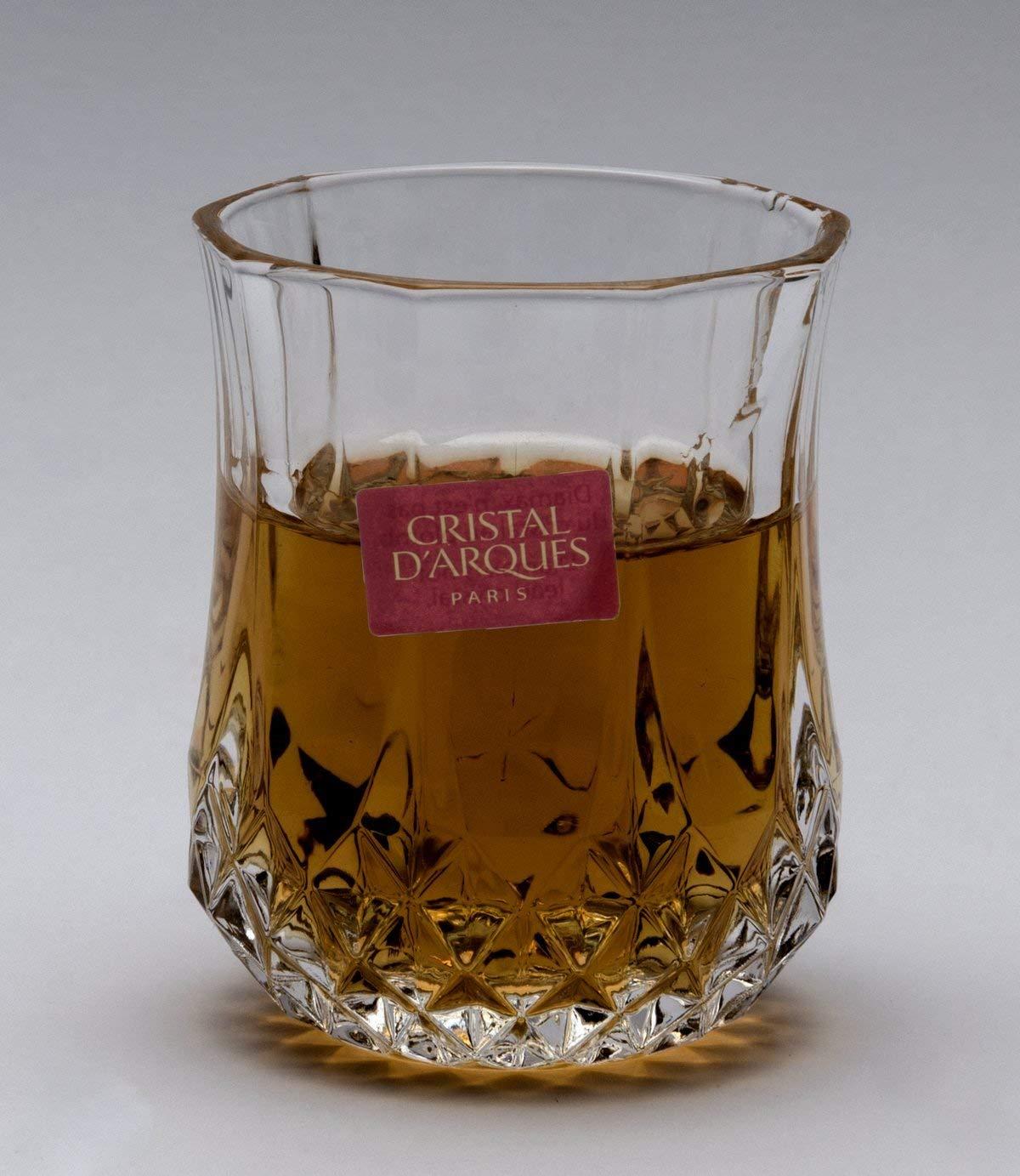 Cristal D'Arques Longchamp 1 1/2-Ounce ''Small'' Shot Glasses, Set of 6