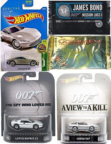 Amazon Com James Bond Mission Logs Trading Cards 007 Hot Wheels