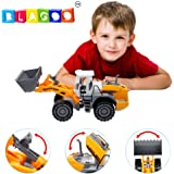 BLAGOO Realistic Wheel Construction Excavator JUMBO SIZE Toy up to 15.5 inches