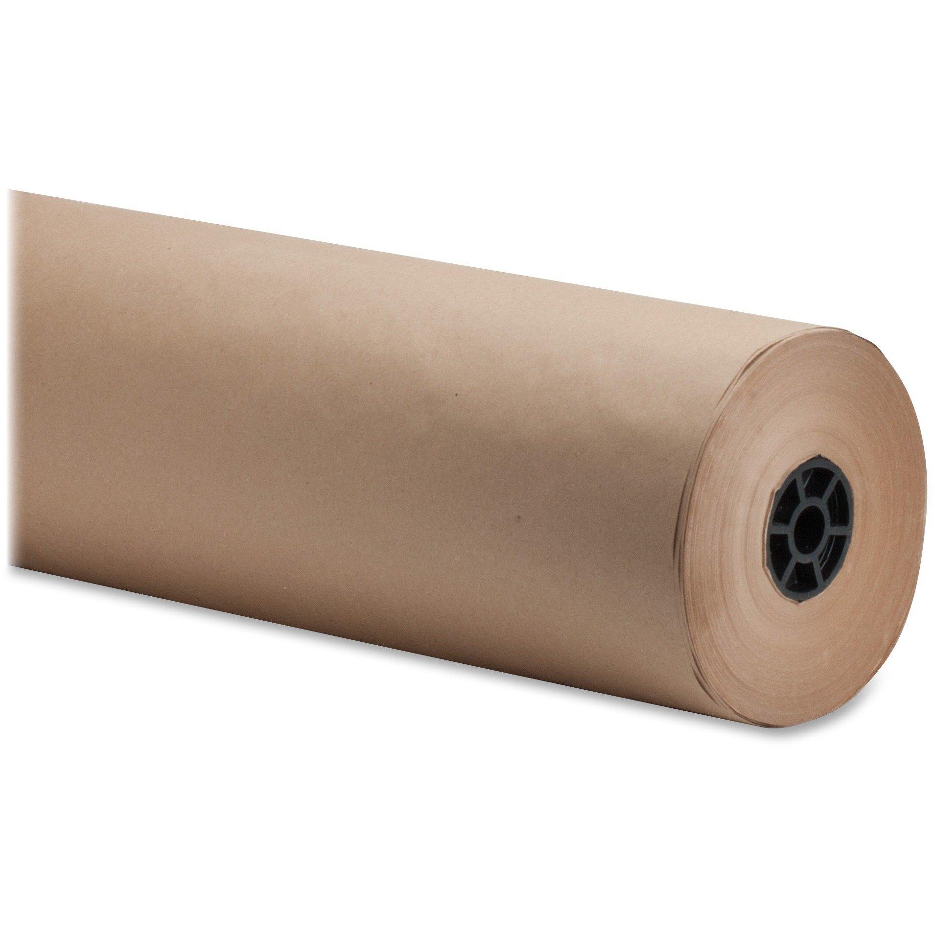 Sparco 24424 Bulk Wrapping Paper, 40 lb., 24''x1050', 1/RL, Kraft