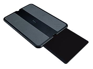 Trust Zidu Base blanda plana para ordenador portátil, negro: Amazon.es: Informática