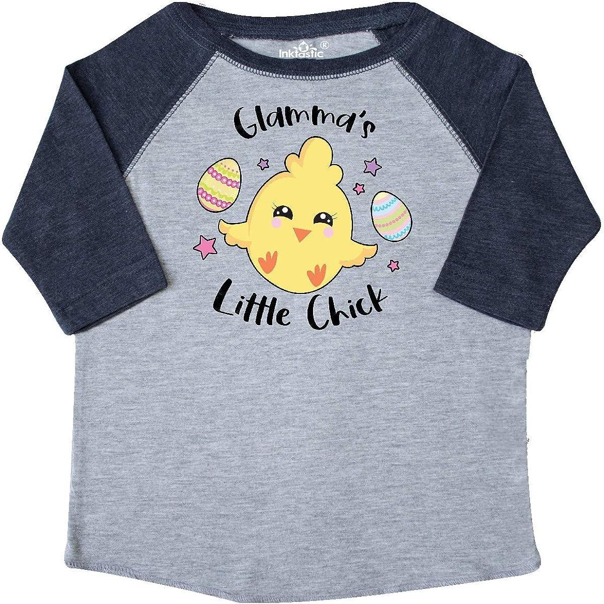 inktastic Happy Easter Glammas Little Chick Toddler T-Shirt