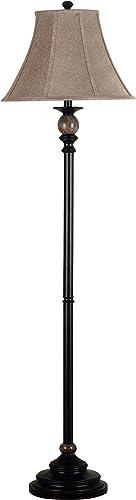 Kenroy Home 20631ORB Plymouth Floor Lamp