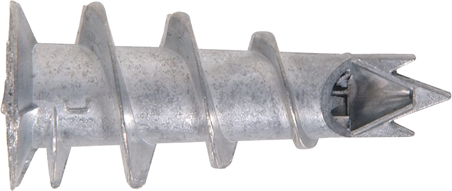 The Hillman Group 375316 Number-6 Jr 100-Pack Nylon Wallboard Anchor