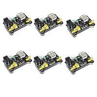 6pezzi breadboard modulo di alimentazione per Arduino solderless