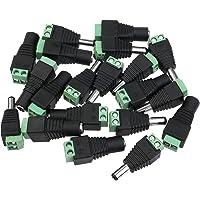 Winomo 10 paar mannelijke en vrouwelijke DC-stekker stopcontact voeding voor CCTV-camera LED-strip verlicht