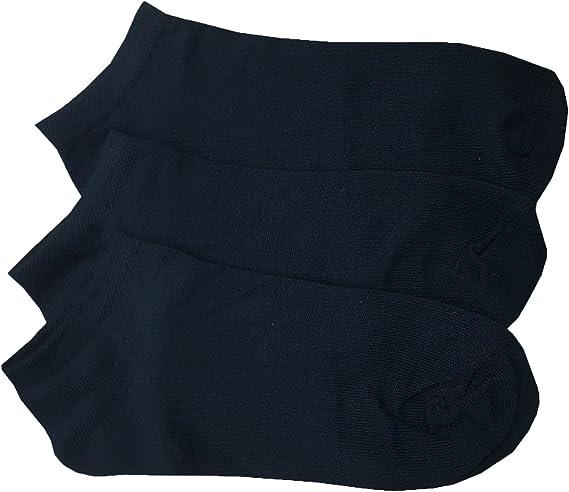 3 x Ladies Women BRITWEAR White Spot Dot Blue Black Ankle High Cotton Rich Socks